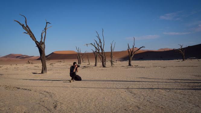dead vlei | sossusvlei | namib wüste | namibia