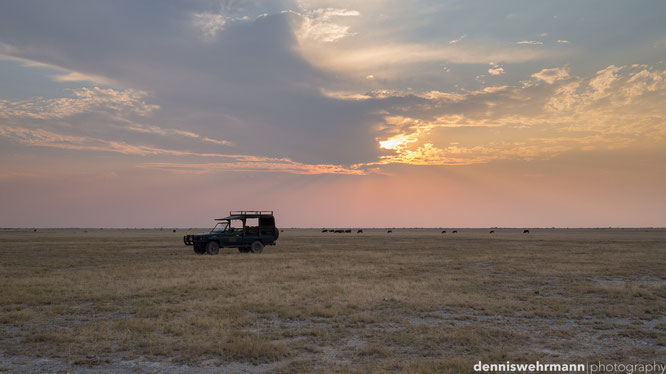 sundown makgadikgadi pans botswana