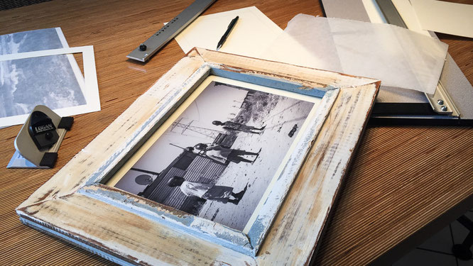 Frame photograph - streetphotography township Langa Cape Town South Africa