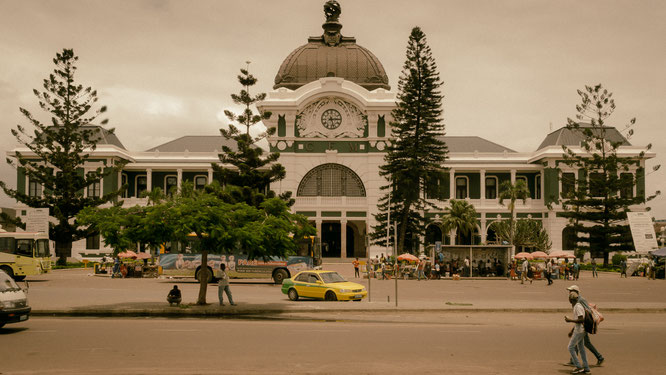 Railway station Maputo Mozambique