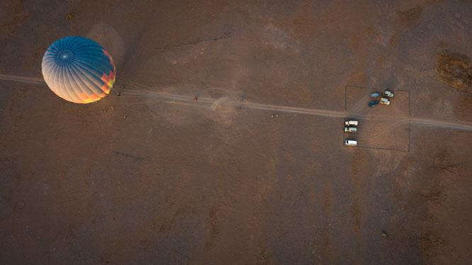 Namib sky balloon safari Namibia - Namib Naukluft Park, Sossusvlei
