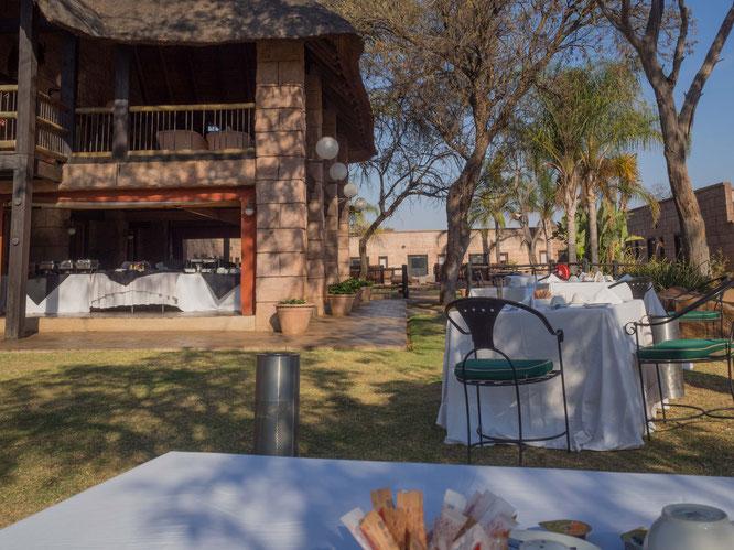 frühstück | zebra country lodge | südafrika