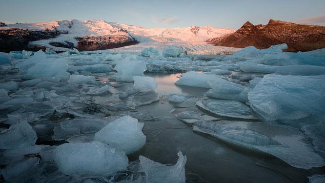 Glacier lagoon Fjallsaárlón | Iceland 2016