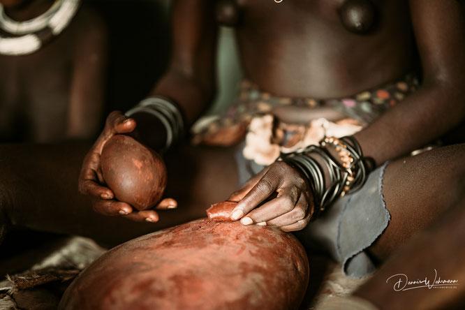 himba frau kunene kaokoveld namibia