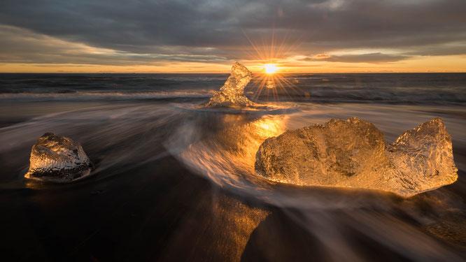 Black beach Jökulsarlòn | Iceland 2016