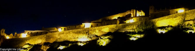 Mertola bei Nacht