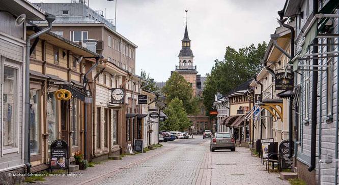 die hölzerne Altstadt von Rauma