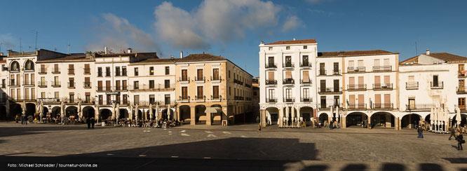 Marktplatz von Caceres