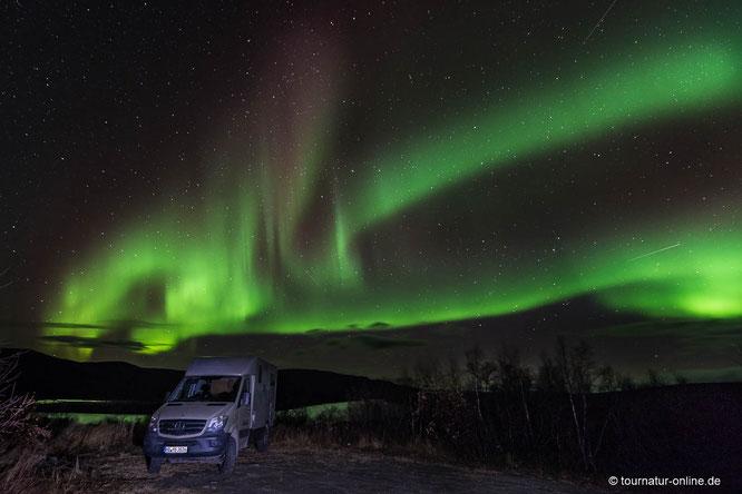 mit welcher Kamera und welchem Objektiv Polarlichter fotografieren