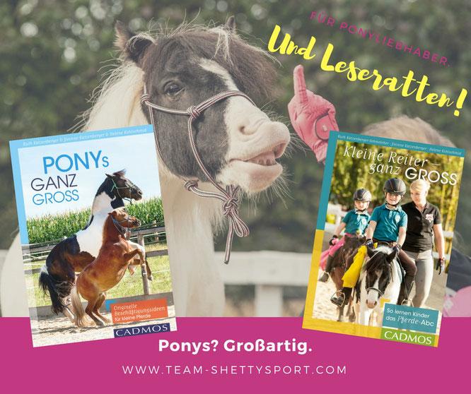 Für Ponyliebhaber und Leseratten! Unsere Bücher!