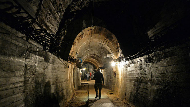 Nazi gold train tunnel