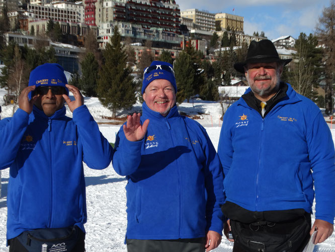 Officials at Cricket on Ice 2020 (13-15.2.2020)