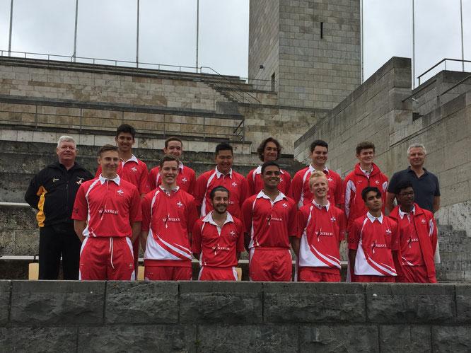 Swiss U19s in Berlin (27-31.7.2017)