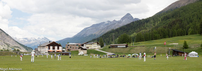 Junior cricket festival in Zuoz GR attracts 250+ youths each year and is the largest tournament in Switzerland