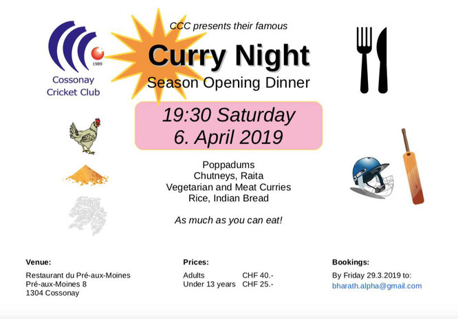Cossonay Curry Night