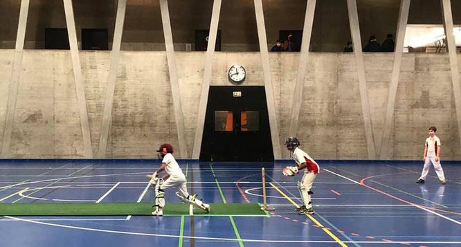 Basel U11 indoors (Pfaffenholz, 2-3 Feb 2019)
