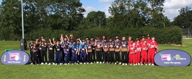 U14s Coloured Clothing Tournament, Leicester, England (12-16.8.2019)