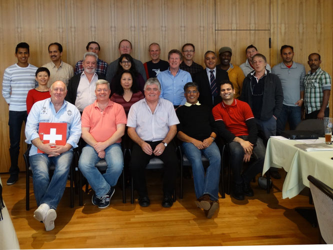 Cricket Switzerland founding members
