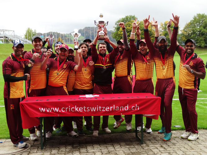 Geneva CC - CSPL Final champions 2020