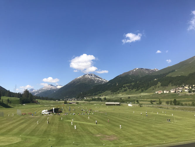 Swiss Junior Cricket Festival 2018 in Zuoz GR