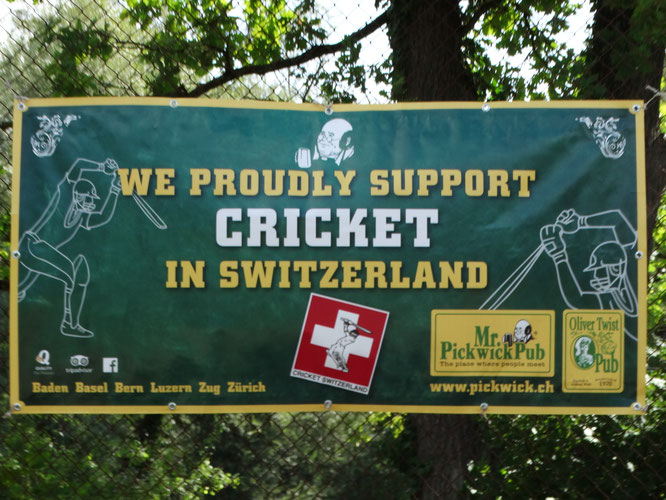 We proudly support CRICKET in Switzerland - www.pickwick.ch