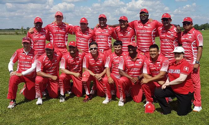 Cricket Switzerland's tour side to Warsaw, Poland, in 2017