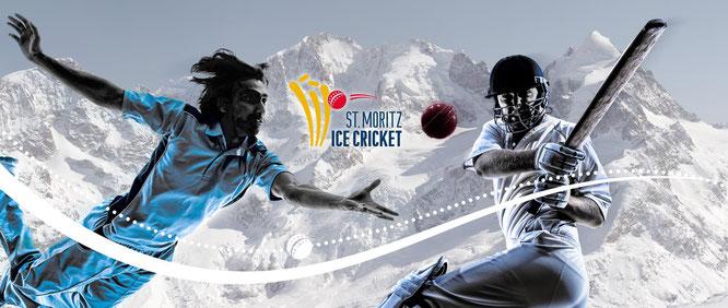 St Moritz ICE CRICKET