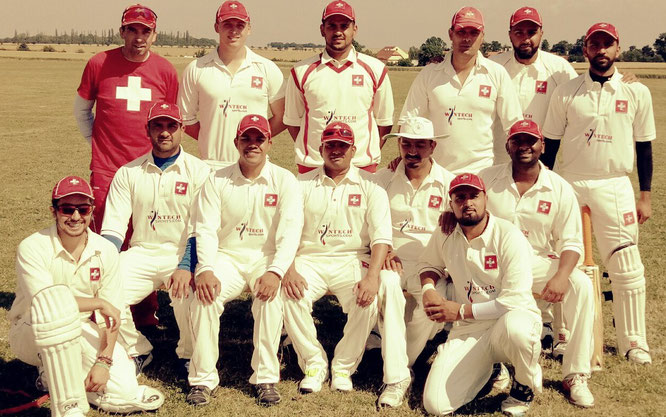Swiss squad for the ODI series in Prague, CZ