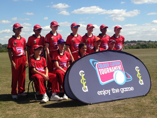 Swiss U13s at the Coloured Clothing U14 Tournament in Leicester, England (6-10.8.2018
