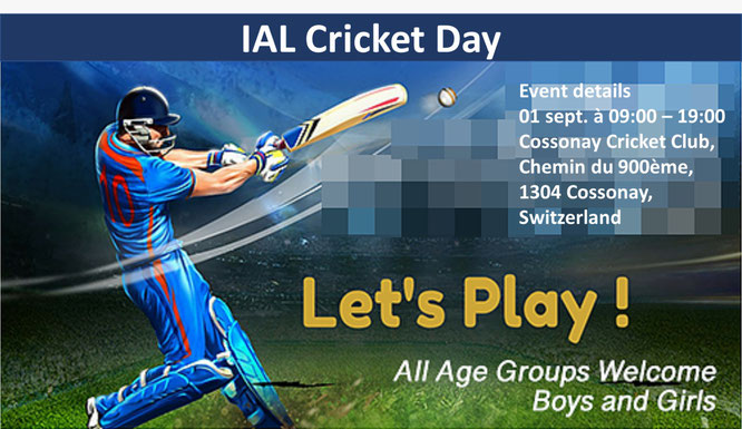 IAL Cricket Day