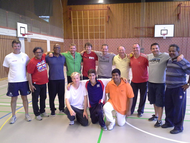 Participants at the CCAS Level 1 Coaches Course in Gingins (3-5.10.2014)