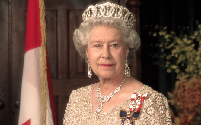 HM Queen Elizabeth II - Queen of 16 of the 53 member states in the Commonwealth of Nations, head of the Commonwealth & Supreme Governor of the Church of England