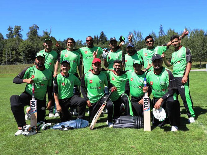 St Gallen Cricket Club (2019 Mr Pickwick Twenty20 semi-finalists)