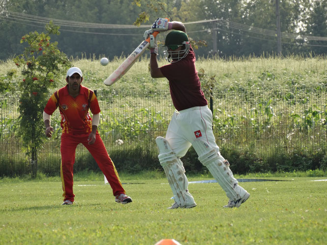 Poland versus Switzerland at the Euro T20 Cup (11-14.8.2016)