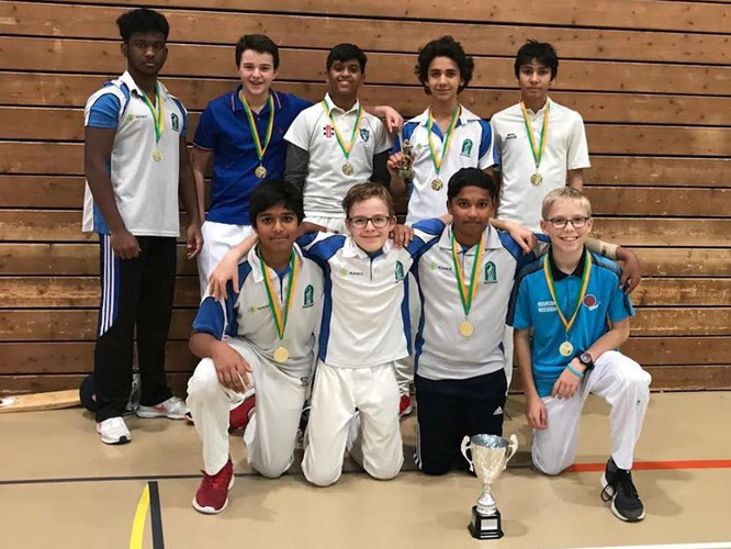 ZCCC U15s - Winners Gingins U15 indoors (23-24.11.2019)
