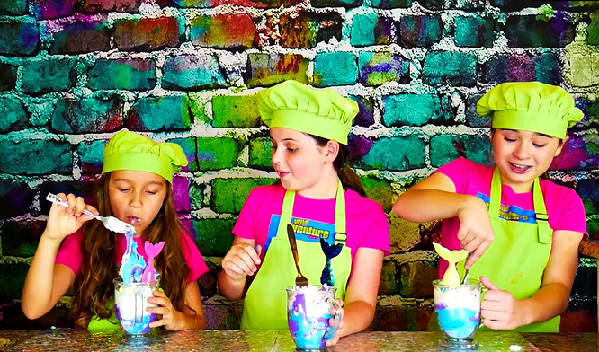 slime, edible slime, slime recipe, the wild adventure girls