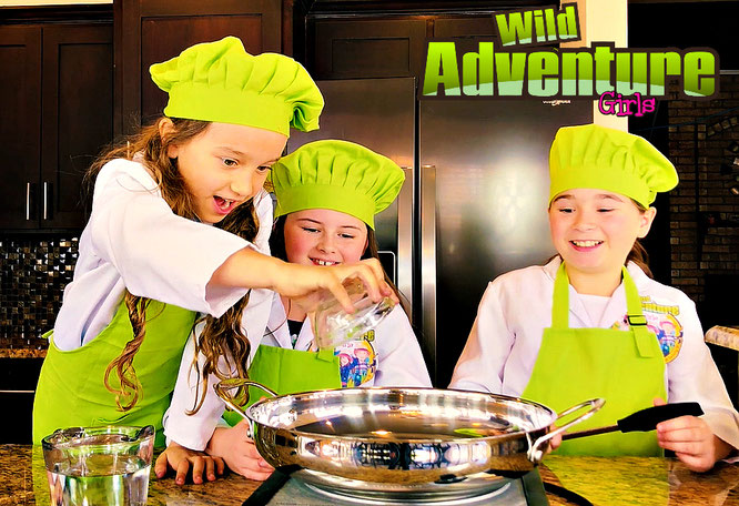 recipe, raindrop cake, wild adventure girls