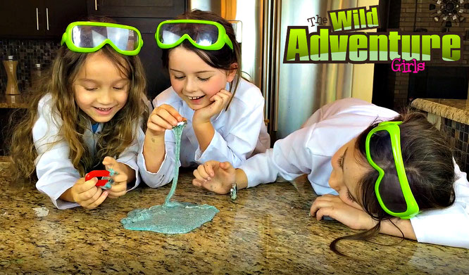 Slime, diy, magnetic slime, crafts, slime recipe, the wild adventure girls