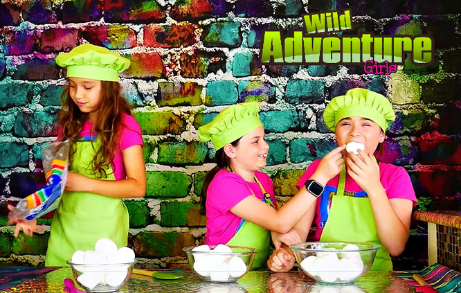 slime, edible slime, edible unicorn slime recipe, the wild adventure girls