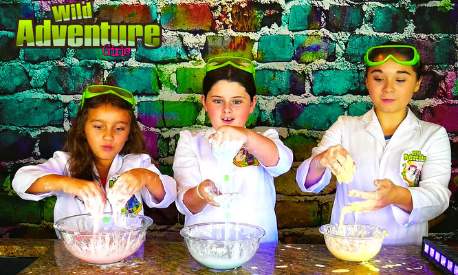 How to Make Oobleck, oobleck ingredients, oobleck recipe, oobleck video