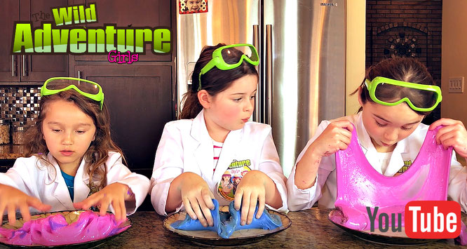 Slime, diy, color changing slime, crafts, slime recipe, the wild adventure girls
