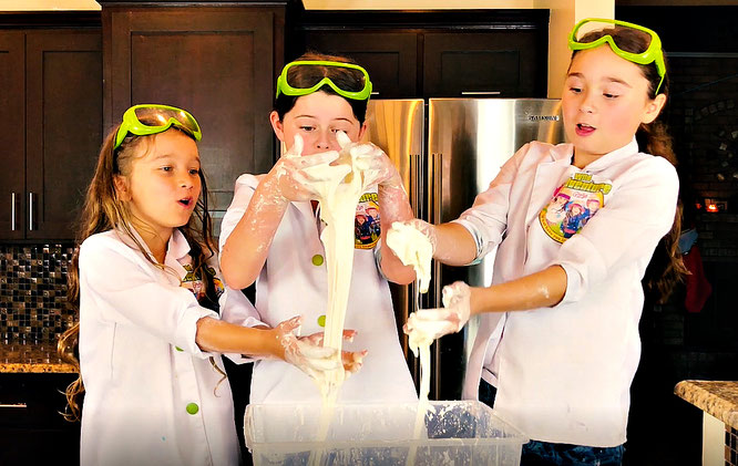 Making oobleck, oobleck recipe