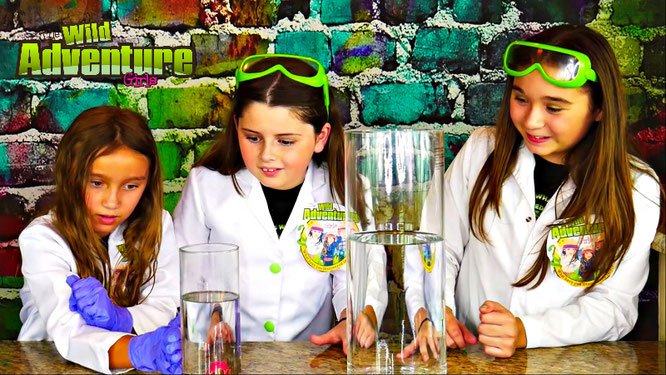 making volcano eruption science experiment