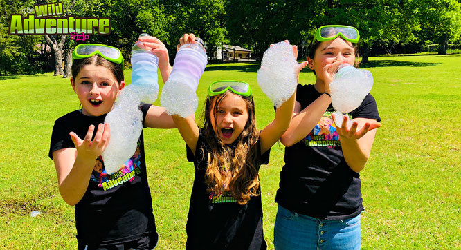 bubble, diy, bubble snake, crafts, bubble recipe, the wild adventure girls