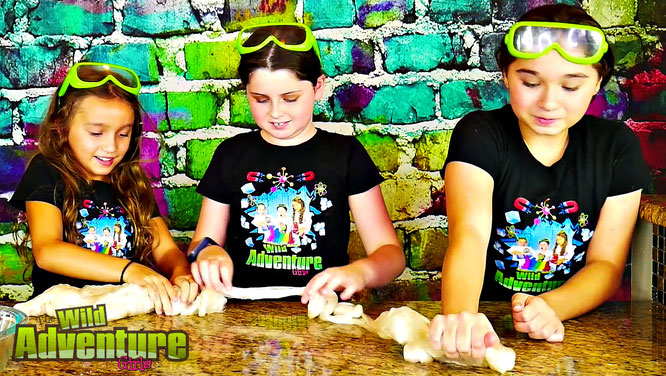 slime, gold leaf slime, the wild adventure girls