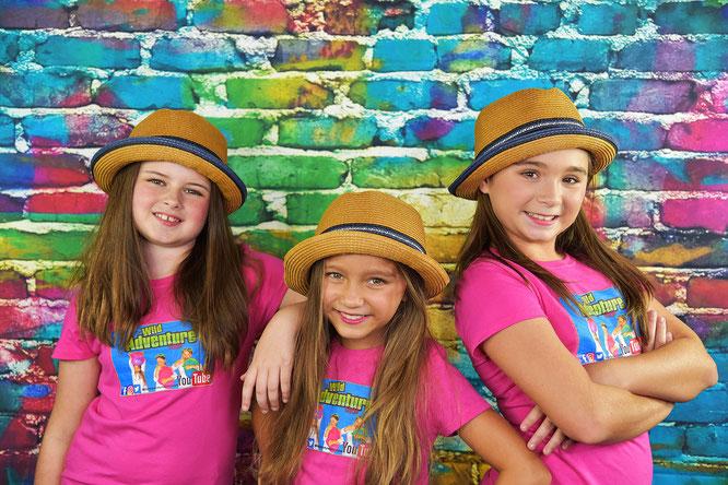 wild adventure girls, adventure girls, youtube adventure, kids educational videos