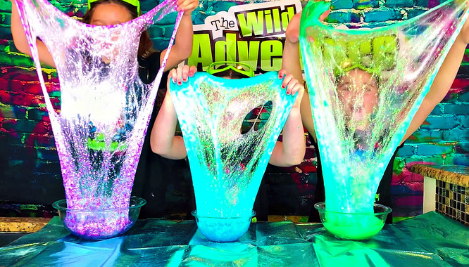 Slime, diy, mermaid slime, crafts, slime recipe, the wild adventure girls