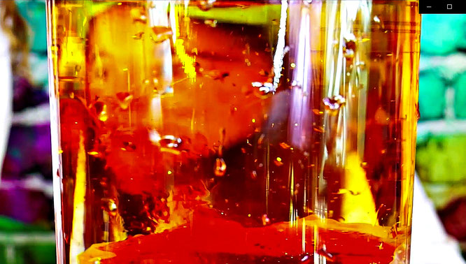 Creating a volcano eruption, volcano erupting