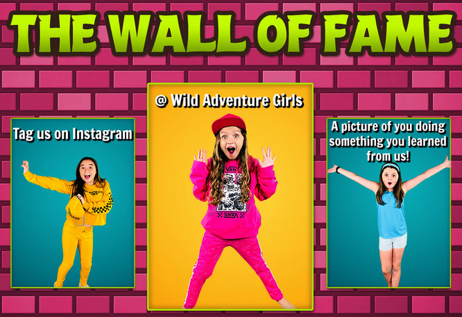 wild adventure girls, adventure girl,youtube, calling all wild adventurers