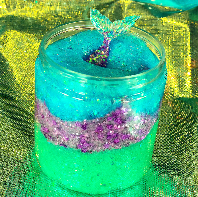 The Wild Adventure Girls, slime, diy, mermaid slime